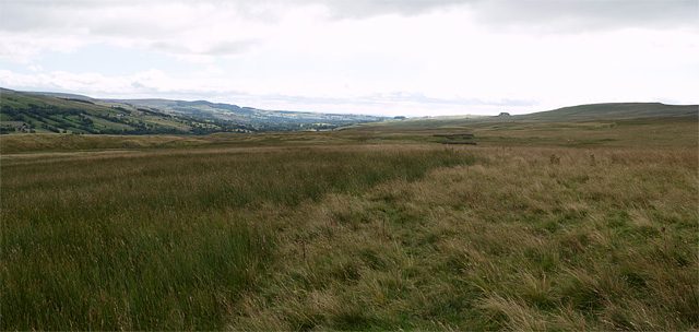 View southeast from Hawk Rigg