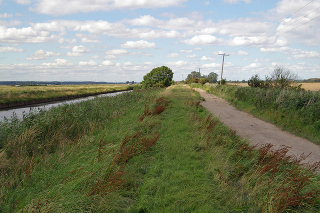 The Track to Hibaldstow Bridge