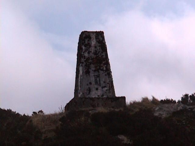 Trig Point on Knocknan (Blackcraig Hill)