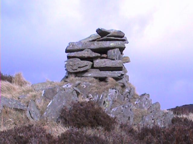 Mid Standard Cairn on Troquhain Hill.