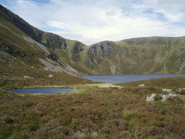 Loch Brandy, in early August