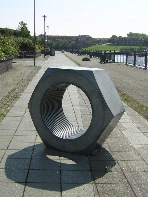Nut Sculpture by River Wear