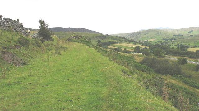 Entry into the Llafar Valley loop