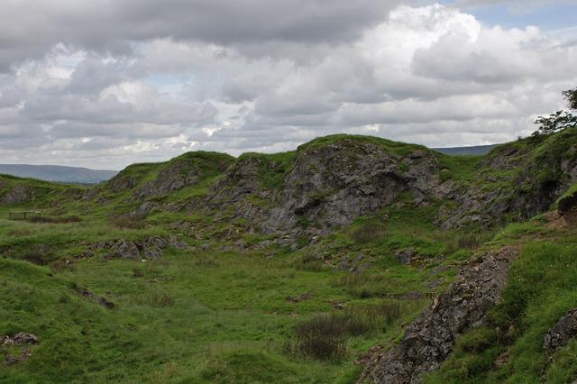 Disused Limestone Quarry