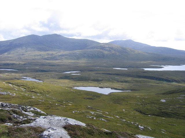 Summit of Beinn Tairbeirt