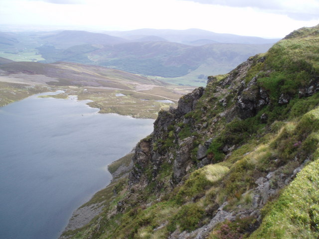 Crags above Loch Brandy