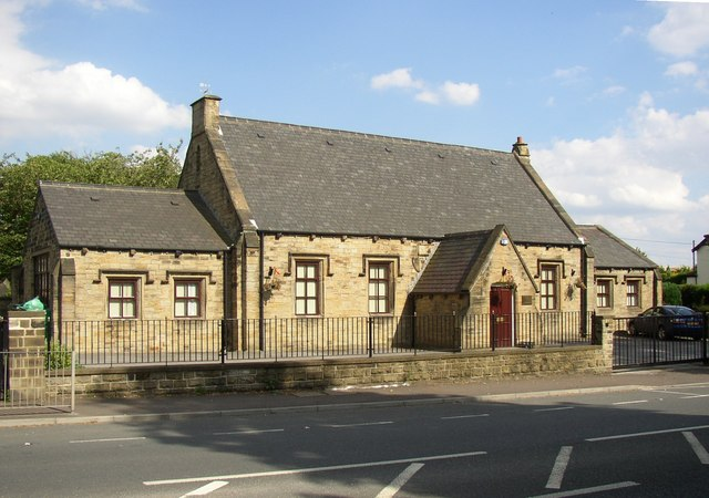 The second schoolroom of the former National School, Birkenshaw