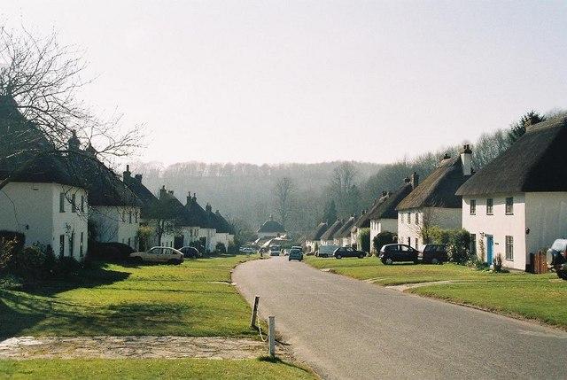 Milton Abbas: picture-postcard village
