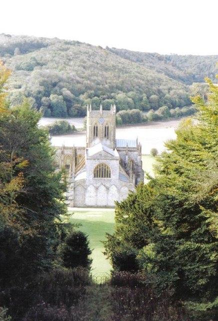Milton Abbas: abbey view