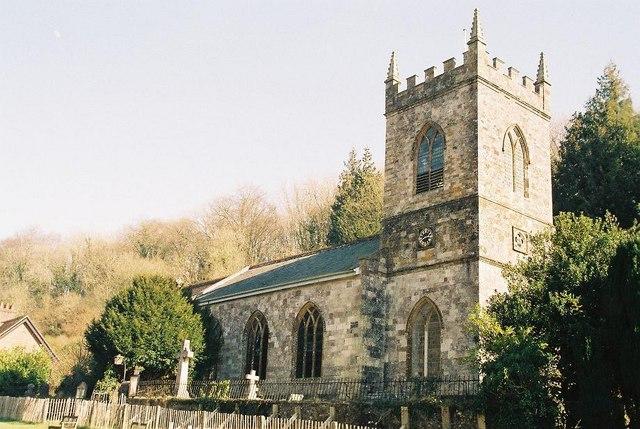 Milton Abbas: parish church of St. James