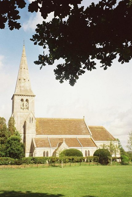 Milton on Stour: church of St. Simon & St. Jude