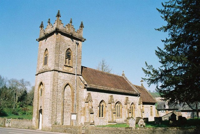 Minterne Magna: parish church of St. Andrew