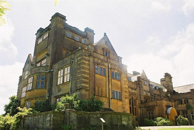 Minterne House: north front
