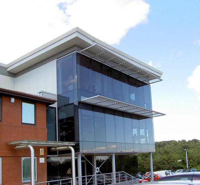 Completed Billington Structures Ltd Office.