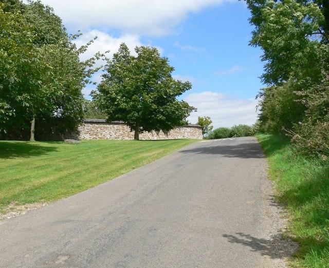 Ingarsby Lane at Old Ingarsby