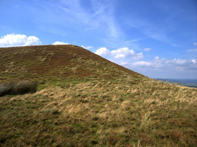 West top of Carn Fflur