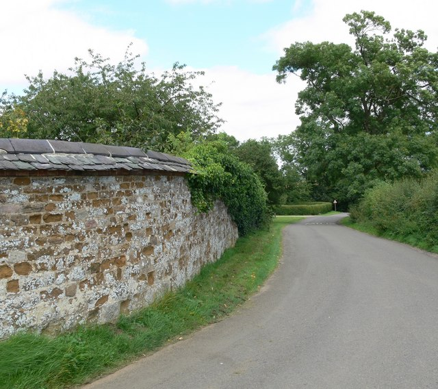 Ingarsby Lane near Ingarsby Old Hall