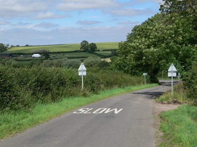 Ingarsby Lane near Old Ingarsby
