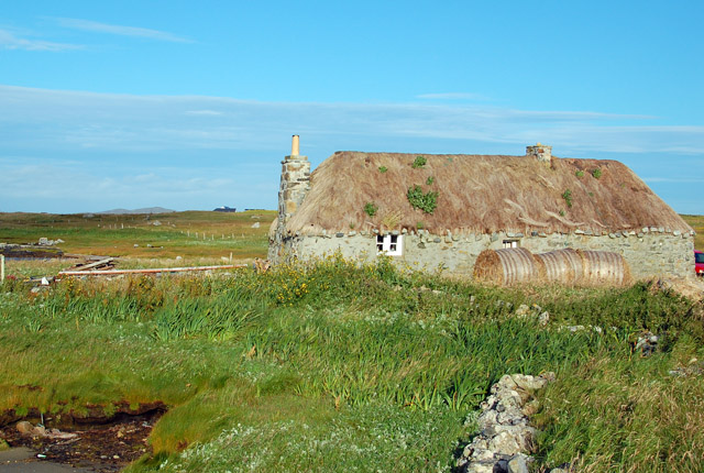 Traditional Uist cottage