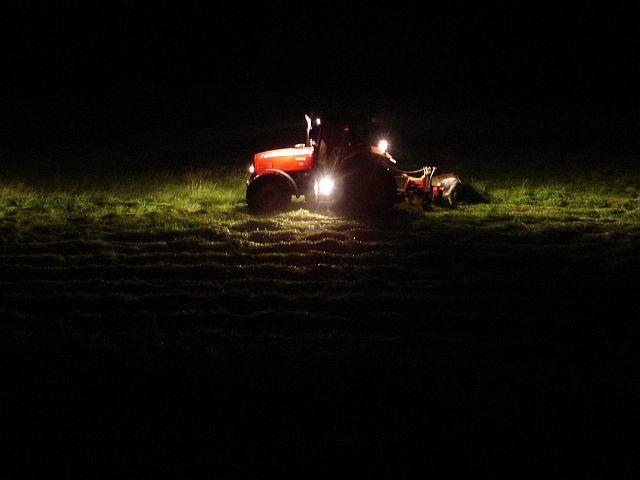 Midnight mowing