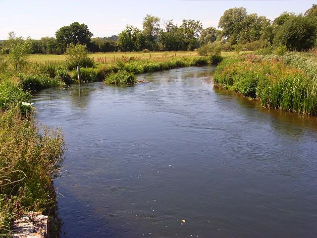 The River Nadder, Bemerton