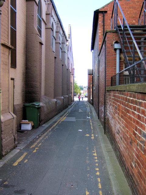 Castleford - Back Bank Street