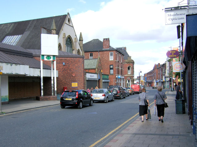 Castleford - Carlton Street looking eastwards