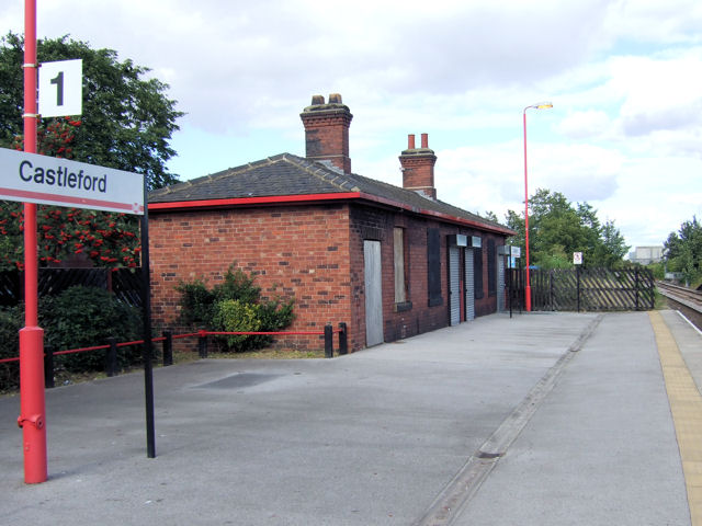 Castleford Railway Station