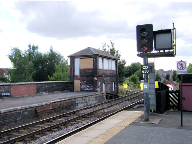 Castleford Railway Signal Box