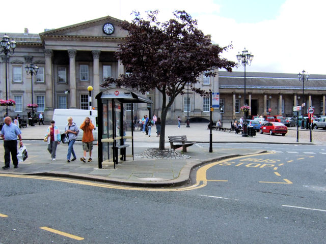 St George's Square, bus stop
