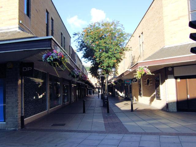 Dewsbury - Princess of Wales shopping precinct