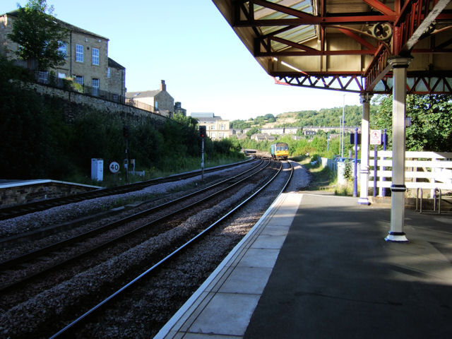 Dewsbury Railway Station