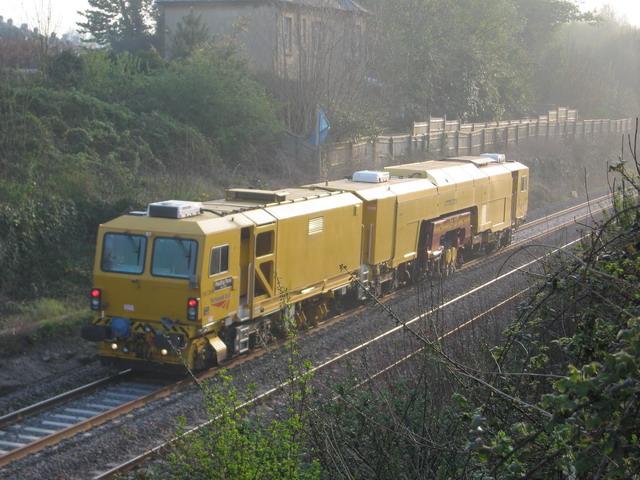 Railtrack Ballasting