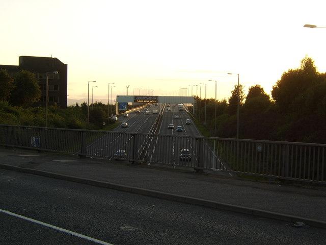 M8 near Paisley