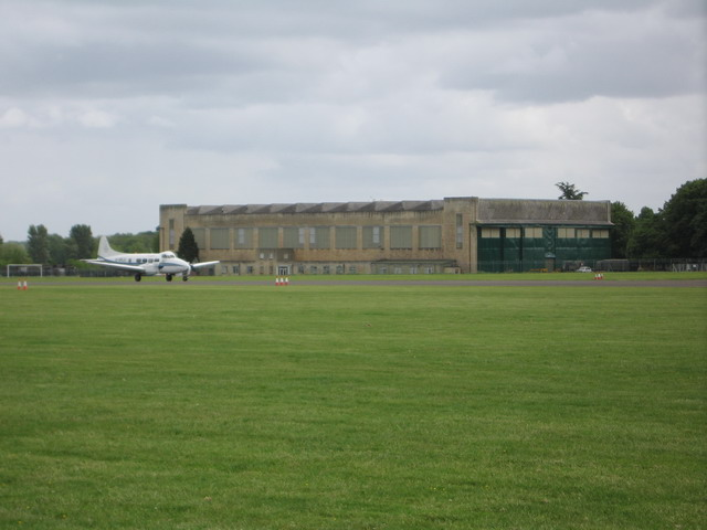 Runway on Hullavington Aerodrome