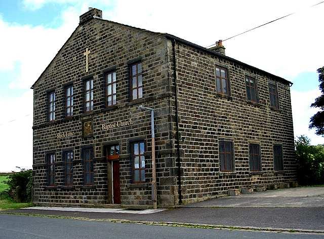 Slack Lane Baptist Church - Mackingstone Lane