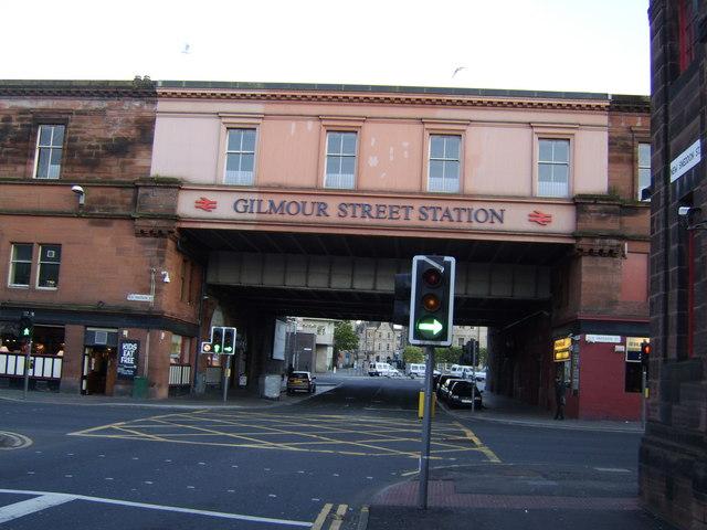Paisley Gilmour Street railway bridge