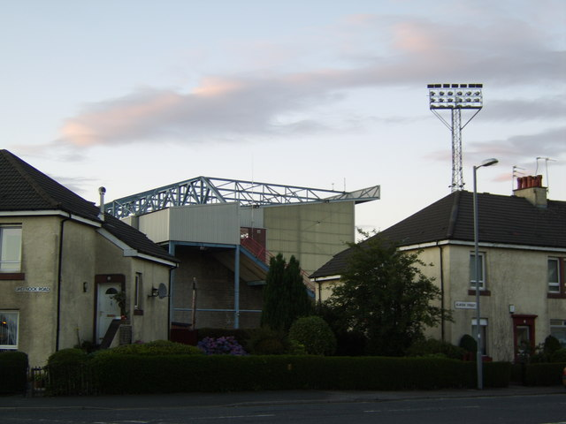 West stand of Love Street football ground