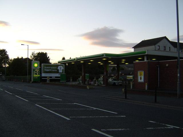 BP garage, Greenock Road, Paisley