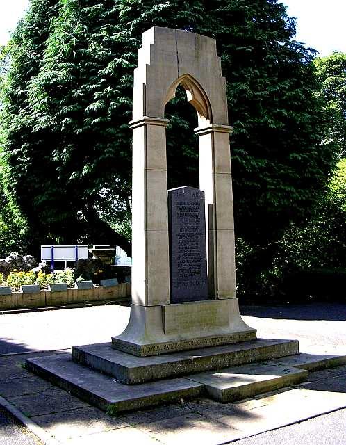War Memorial - Holden Park