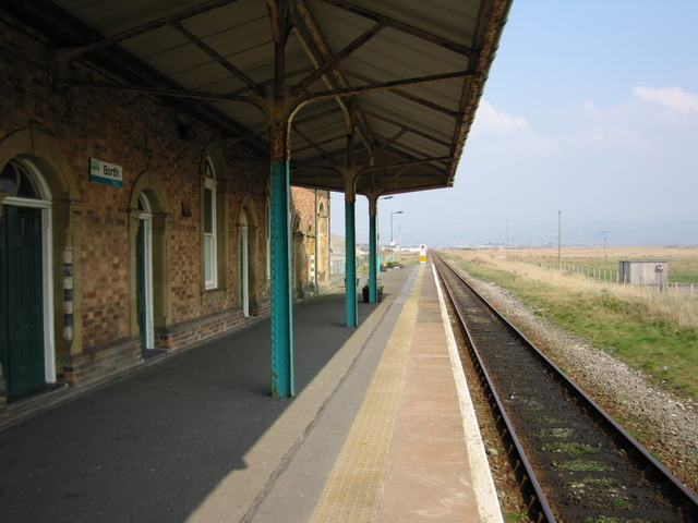 Borth Railway Station