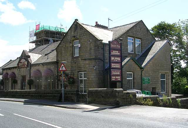 The Snooty Fox - Colne Road, next to Church