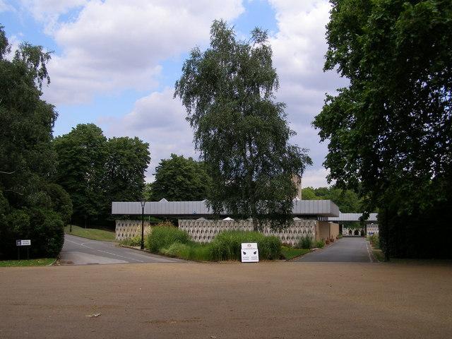 Crematorium, City of London Cemetery