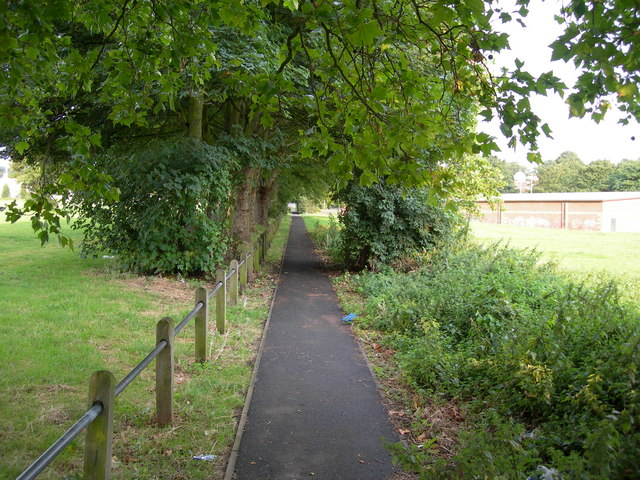 Footpath Between Prince Arthur Road and Mill Road