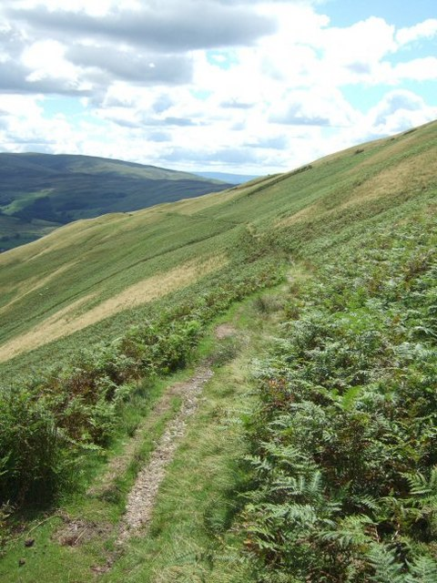 Path from Sedbergh to Winder and Arant Haw
