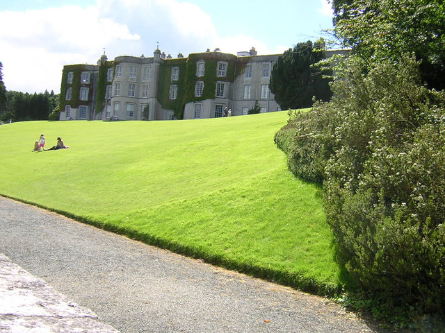 Plas Newydd from pathway