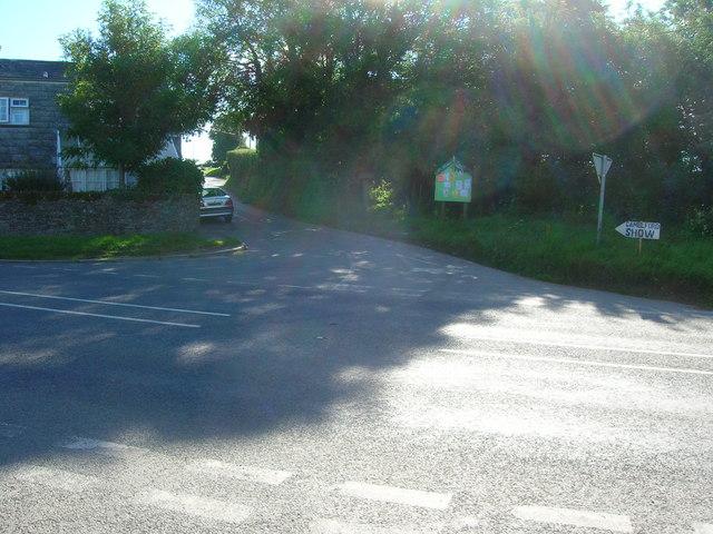 Longstone crossroads