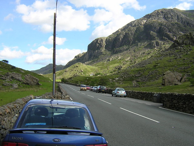 Llanberis pass road