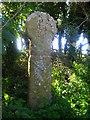 SX0673 : Penwine Cross by William Bartlett