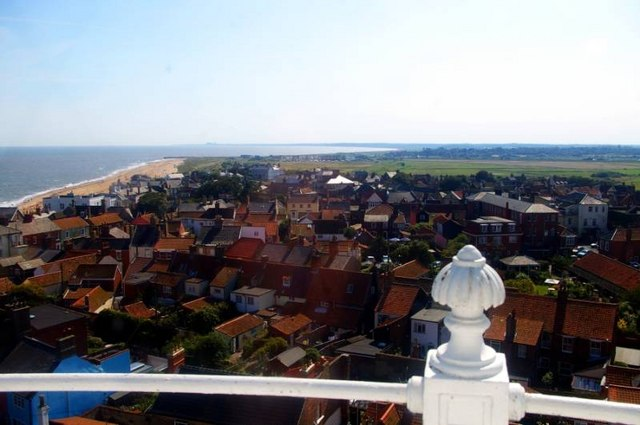 View south from Southwold Lighthouse